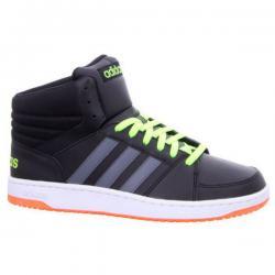 Намаление  Мъжки високи спортни обувки Adidas Hoops Черно
