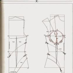 Кройки за производство на бельо и бански костюми. Градация