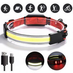 Акумулаторен LED фенер за глава челник