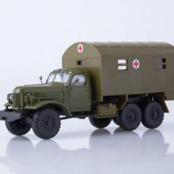 Моделче на Зил-157, в мащаб 1 43