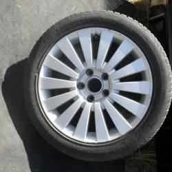 Алуминиева джанта с гума за VW Audi 7,5jx17h2 Фолцваген Ауди 17 цола