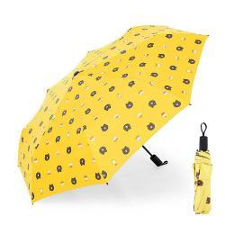 2433 Сгъваем автоматичен чадър на мечета с UV защита