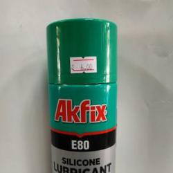 Силиконов спрей за смазване и полиране Akfix E80 400мл