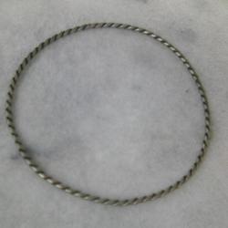 Сребърна гривна