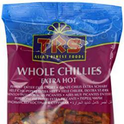 TRS Extra Hot Red Chillies ТРС Екстра Люто Червено Чили 50гр
