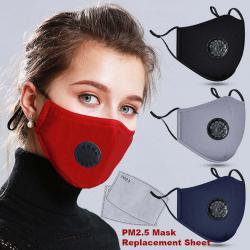 Защитна маска  2бр. филтри с активен въглен