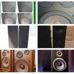 Тонколони 700w, Canton, Jamo, Pioneer, B&w, Tannoy, Heco, Sony