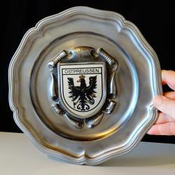 Герб на Прусия, пано от калай.