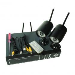 Видеонаблюдение - Намаление, пълен комплект, безжично...
