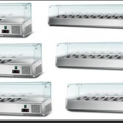 Професионални студени витрини за салати и други