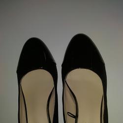 черни дамски обувки