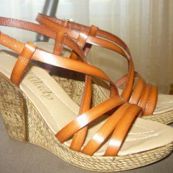 Български сандали естествена кожа