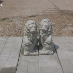 Фигура - Лъв от бетон