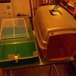 Транспортна кутия клетка за домашни любимци куче котка животни