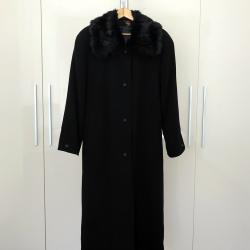 Луксозно дамско кашмирено зимно дълго палто Modena