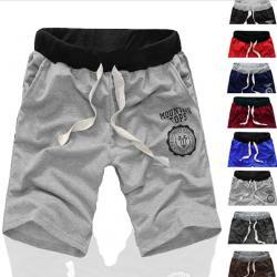 Сиви къси спортни панталони, р-р L-XL