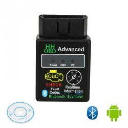 Obdii hhobd Bluetooth диагностичен скенер бонус