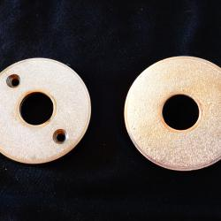 Метални капаци за брава.