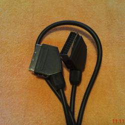 Кабел скарт за аудио-видео връзка, чисто нов, дължина 150 см. 7 лв.