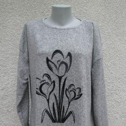 4XL Нова блуза Azra с лалета