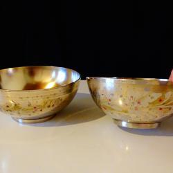 Бронзова купа за супа Индия.