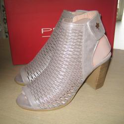 Намаление-дамски летни боти сандали м. 661 естествена кожа