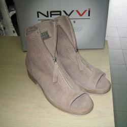 Дамски летни боти сандали м. 6221 естествена кожа