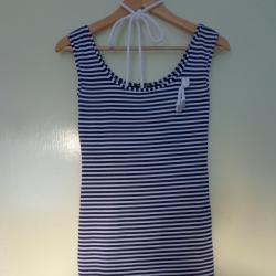 лятна морска рокля