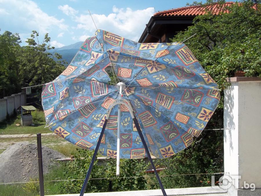 Плажни чадъри чадър здрави и за ремонт и резервни части