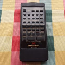 Panasonic Rak-sv3002w Remote Control for DAT Recorder Player