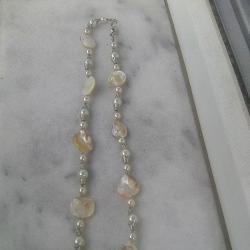 Стар гердан от седеф и перли 2