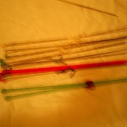 куки за плетене  -  6 комплекта
