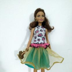 Кукла Barbie Fashion Mix N Match Doll, Brunette