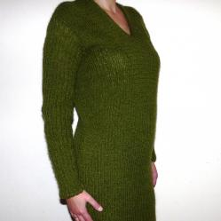 Ръчно плетена рокля