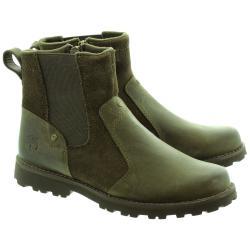 Ликвидация  Спортни зимни обувки Timberland Милитъри