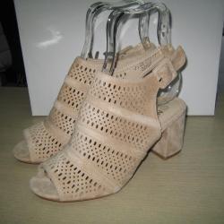Дамски летни боти сандали м. 188-280 бежави