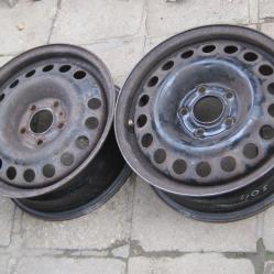 2 бр железни джанти за Опел Астра г Opel Astra G Zafira 15 5x110