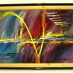 Абстрактниа картина Fremover