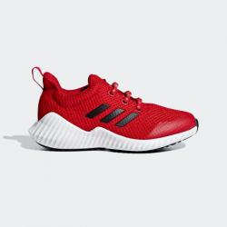 Намаление Спортни обувки Adidas Fortarun Червено