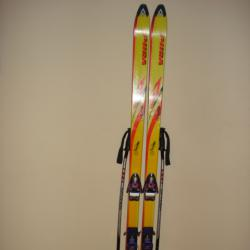 Ски Volkl Vsp Renntiger Автомати Salomon 897 Composite