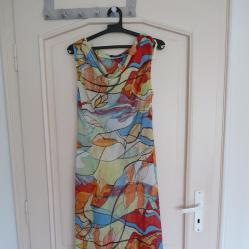 Дамска немска лятна рокля - р - р 44, ЕUR - 48 от шифон