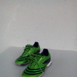 Детски лачени маратонки футболни обувки Adidas F10