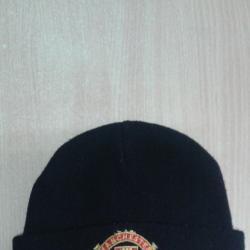 Мъжка плетена шапка и шал ФК Манчестер юнайтед