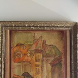Картина, рисувана на кожа, 1970-1980