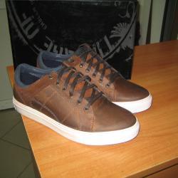 Мъжки спортни обувки кецове естествена кожа