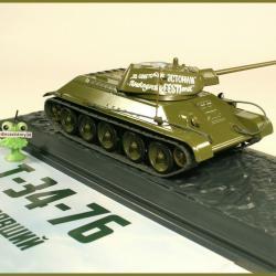 Моделче на танк Т-34-76, в мащаб 1 43