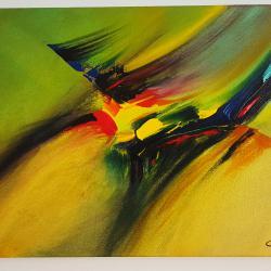 Абстрактна картина F26