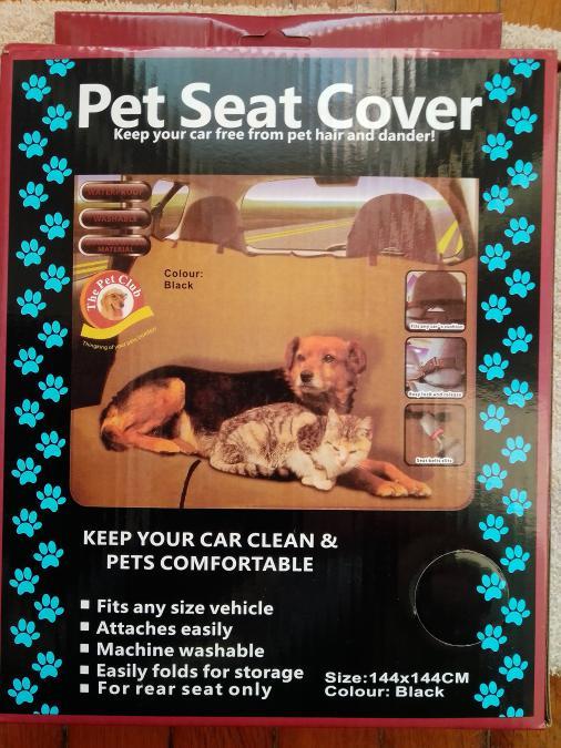 Покривало за задна седалка. Предпазва от косми и замърсявания.