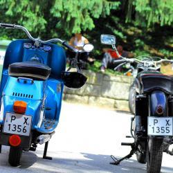Ретро мотоциклети Чезета и Ява250 от 1957г.