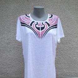 3XL Нова бяла блуза